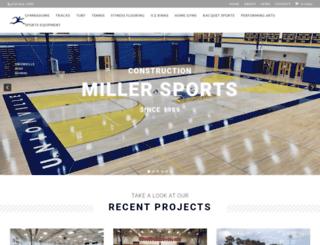 millerflooring.com screenshot