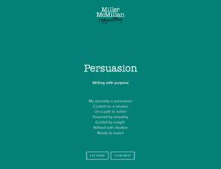 millermcmillan.com screenshot