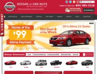 millernissan.com screenshot