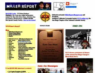 millerreport.com screenshot