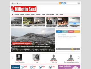milletinsesi.com.tr screenshot