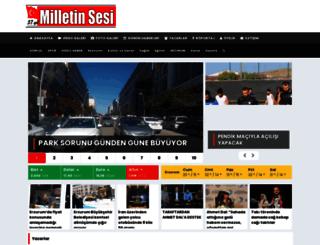 milletinsesi.com.tr screenshot