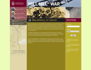 millhill.me screenshot