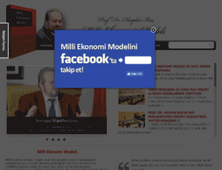 milliekonomimodeli.com screenshot