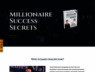 millionairefreebook.com screenshot