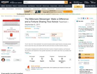 millionairemessenger.com screenshot