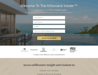 millionaireseries.net screenshot