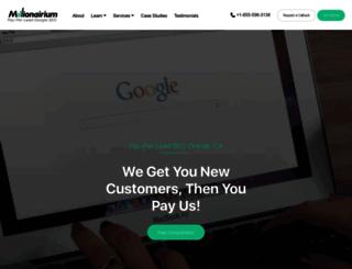 millionairium.com screenshot