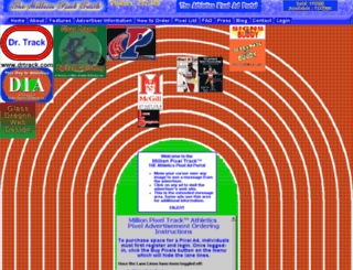 millionpixeltrack.com screenshot