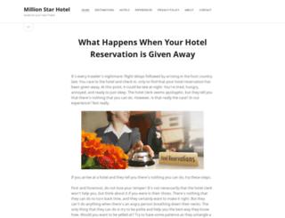 millionstarhotel.com screenshot