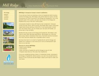 millridgenc.com screenshot