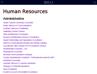 mills.interviewexchange.com screenshot