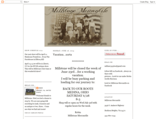millstonemercantile.blogspot.com screenshot