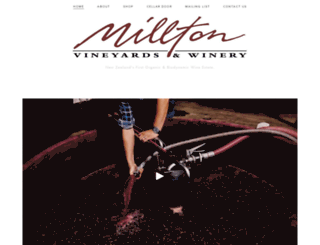 millton.co.nz screenshot