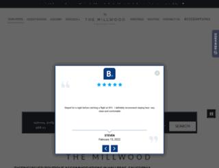 millwoodinn.com screenshot