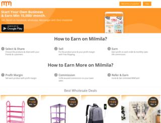 milmila.com screenshot