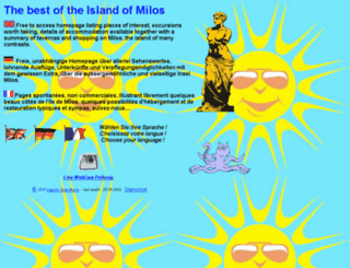milos-travel.com screenshot