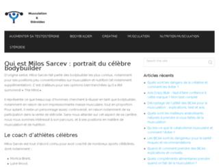 milossarcev.com screenshot