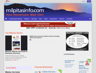 milpitasinfo.com screenshot