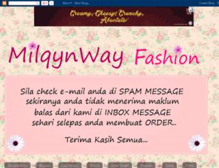 milqynway.com screenshot