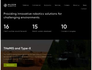milremrobotics.com screenshot