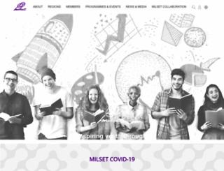 milset.org screenshot