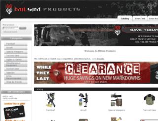 milsimproducts.com screenshot