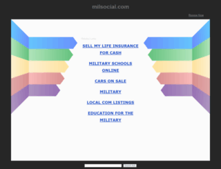 milsocial.com screenshot