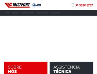 miltfort.com.br screenshot