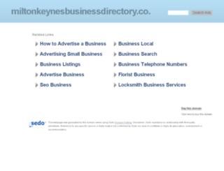miltonkeynesbusinessdirectory.co.uk screenshot