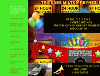 miltonkeynescheapcabs.co.uk screenshot