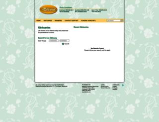 milward.mem.com screenshot