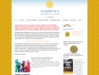 milwaukee.shambhala.org screenshot