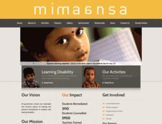 mimaansa.org screenshot