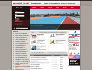mimarizeminfirma.com screenshot