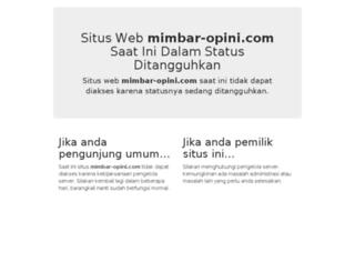 mimbar-opini.com screenshot