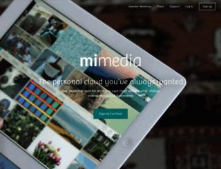 mimedia.com screenshot