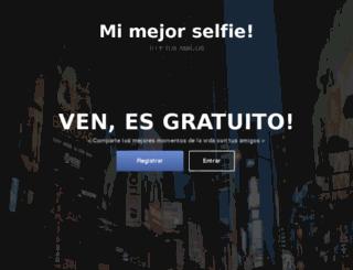 mimejorselfie.com screenshot