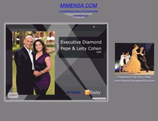 mimensa.com screenshot