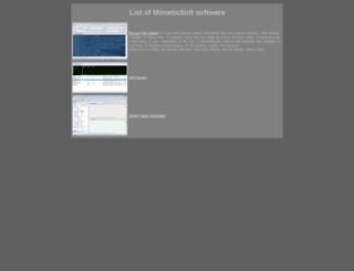 mimeticsoft.farvista.net screenshot