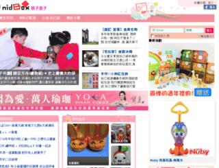 mimiandyoung.nidbox.com screenshot