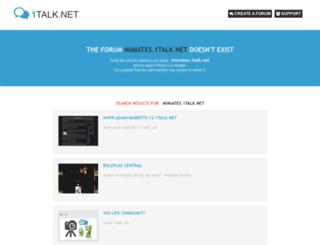 mimiates.1talk.net screenshot
