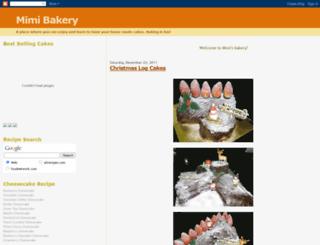 mimibakery.blogspot.com screenshot