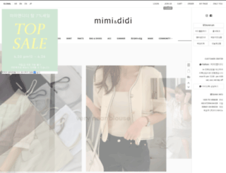 mimididi.co.kr screenshot