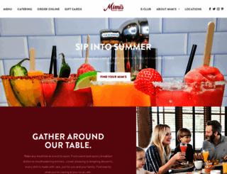 mimiscafe.com screenshot