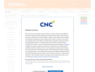 mimishop.cz screenshot