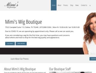 mimiswigboutique.com screenshot