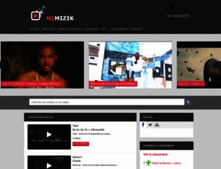 mimizik.com screenshot