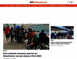 mimorelia.com screenshot