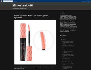 mimosbraidotti.blogspot.com screenshot